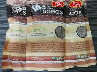 Love Earth Organic Chia Seeds