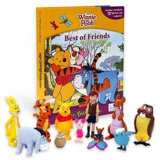 Buku Anak MY BUSY BOOK DISNEY WINNIE THE POOH BEST OF FRIENDS