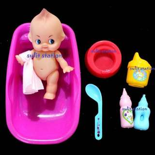 BABY BATH TUB TIME RUBBER TOYS