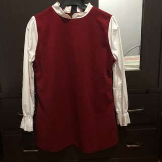 Long sleeves Korean Top