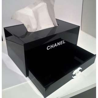 Chanel VIP Tissue Storage Box W/ Drawer (reduced price)