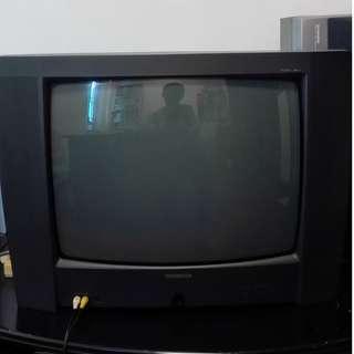 """SALE!!! 20"""" CRT TV Vintage TV"""