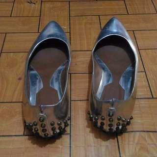 Elizabeth's Silver shoes
