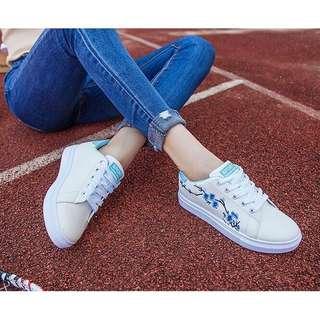 Plum Sport Embroidery Sneaker