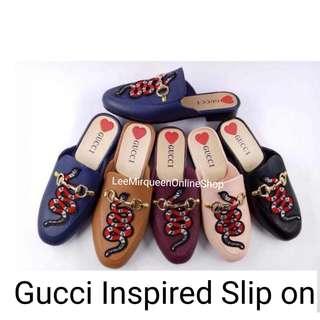 Gucci Snake Design Slip On