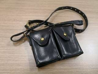 皮袋 real leather bag