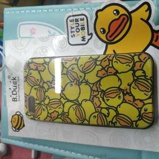 B.DUCK黃色 iPhone5保護殼