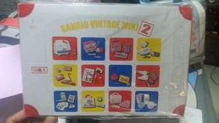 Sanrio vintage mini 2 rement 全新未拆 twin stars, kitty