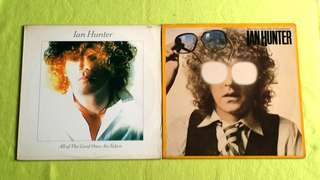 IAN HUNTER . all the good ones are taken / you're never alone with a schizophrenic ( buy 1 get 1 free ) vinyl record