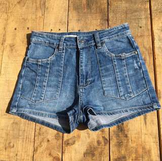 *ON SALE* WRANGLER Hi Cheeky Denim Shorts💙