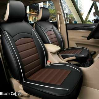 Danny Leather Car Seat Cushion Cover 5 Seater Full Set