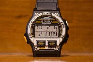 Vintage Timex Ironman Triathlon indigo not seiko casio
