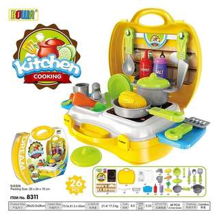 Kitchen Playset (Bowa Dream The Suitcase)