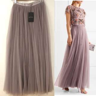 長身半截沙裙 New Needle & Thread long skirt size