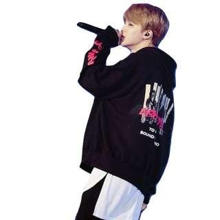 HOODIE BTS BANGTAN BOYS JIMIN SUBCULTURE S M L XL XXL