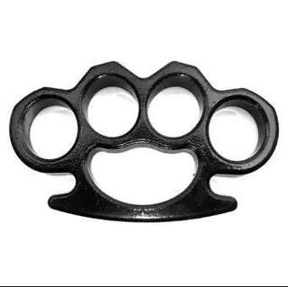 Black Brass Knuckles