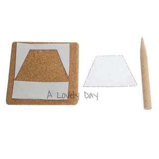 Montessori Paper Punch Pin Activity Set