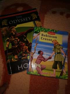 The Odyssey and Robinson Crusoe