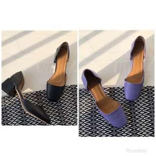 LOQ LUCIA 深藍色和紫色  兩色!看似一款涼鞋