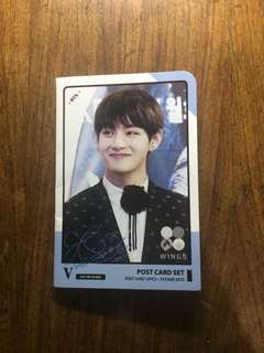 Taehyung Post Card and Sticker Set (unofficial)