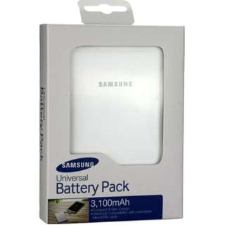 Genuine Samsung Slim Portable 3100mAh Battery Pack - Clearance Offer while stock last