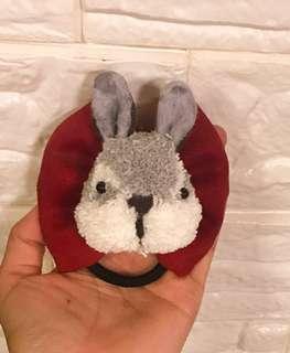 全手工兔子毛毛球