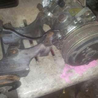 Proton saga(iswara,saga2) n wira Compressor aircond n braket,