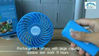 Handy fan electric mini Hand fan rechargeable
