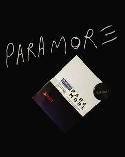 Lowerbox B paramore ticket