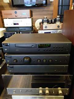 Arcam Cd player, Integrated Amplifier and Power Amplifier