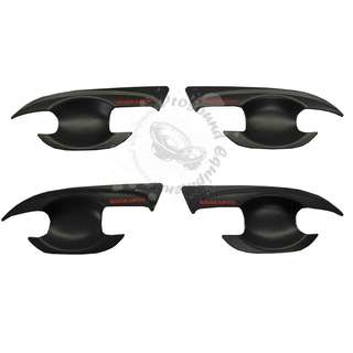 NISSAN NAVARA NP300 2015 (NNS-134) INNER DOOR HANDLE BOWL 4 DOORS (MATT BLACK)