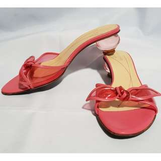 Authentic KATE SPADE Pink Sandals Size 6 1/2