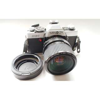 minolta xg-1 film camera