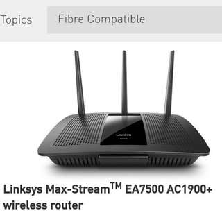 Linksys Max-Stream EA7500 AC1900+ wireless router