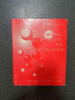 General Organic for Allied Health