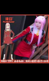 Darling in the franxx zero two/02 cosplay [PO]