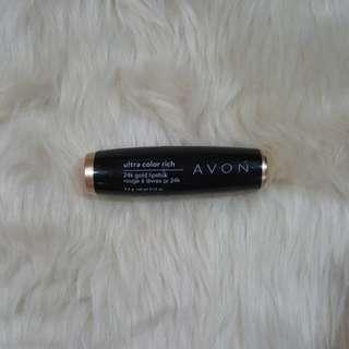 Avon Ultra Color Rich 24K Gold Lipstick