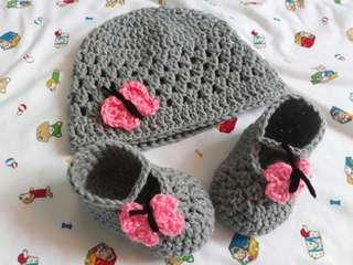 Crochet Butterfly Set 😇