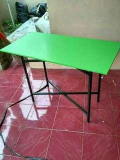 Meja lipat 100x60x70/ meja bazaar/meja kantin/meja kerja