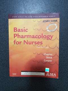 Basic Pharmacology for Nurses Study Guide