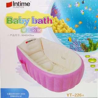 Bak Mandi Bayi INTIME BATH TUB PINK