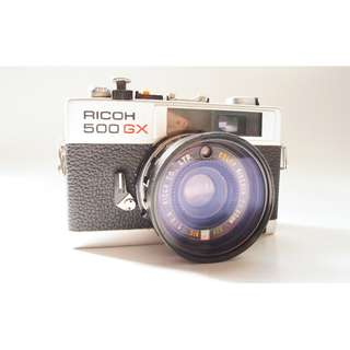 ricoh 500gx film camera