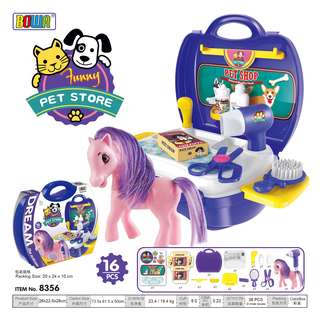 Pony Pet Store Play Set (Bowa Dream The Suitcase)