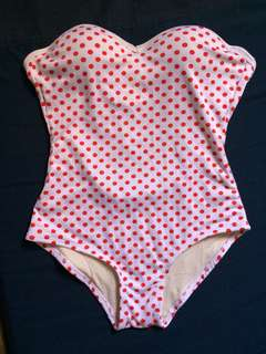 1pc. Polka dot swimsuit