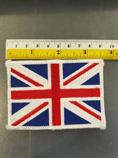 British Union Jack Embroidered Emblem  Patch