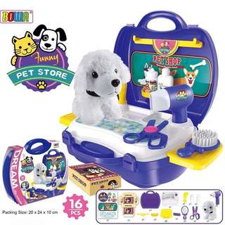 Puppy Pet Store Play Set (Bowa Dream The Suitcase)
