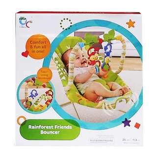 Bouncer Bayi / Baby Bouncer RAINFOREST FRIENDS BOUNCER - 68126