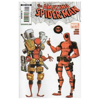 The Amazing Spider-Man #611 ( Skottie Young Cover)