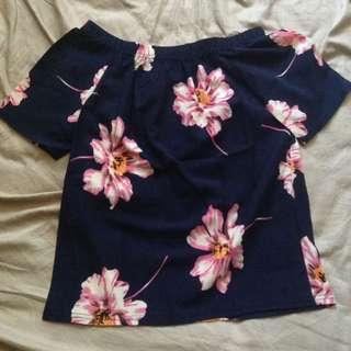 Floral Off-Shoulder