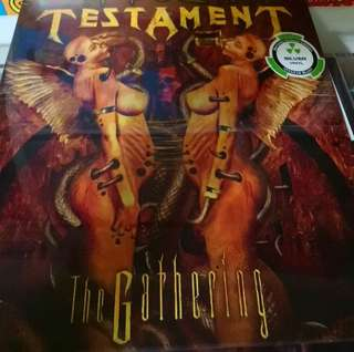 Mint sealed testament the gathering limited colored record vinyl lp metal classic